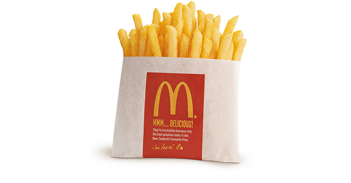 Small fries png. Mcdonald s new zealand
