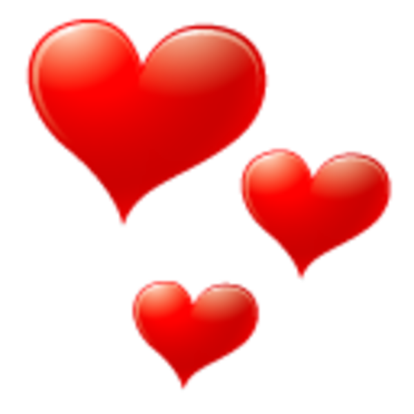 Red heart icon png. Small image