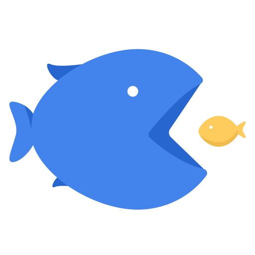 Small icons png. For free big fish