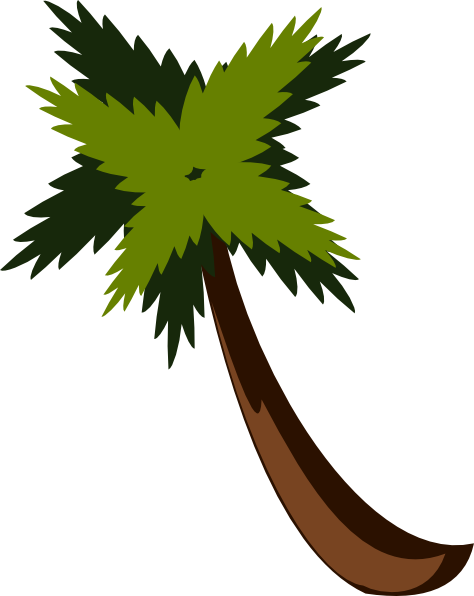 Small palm tree png. Clip art at clker