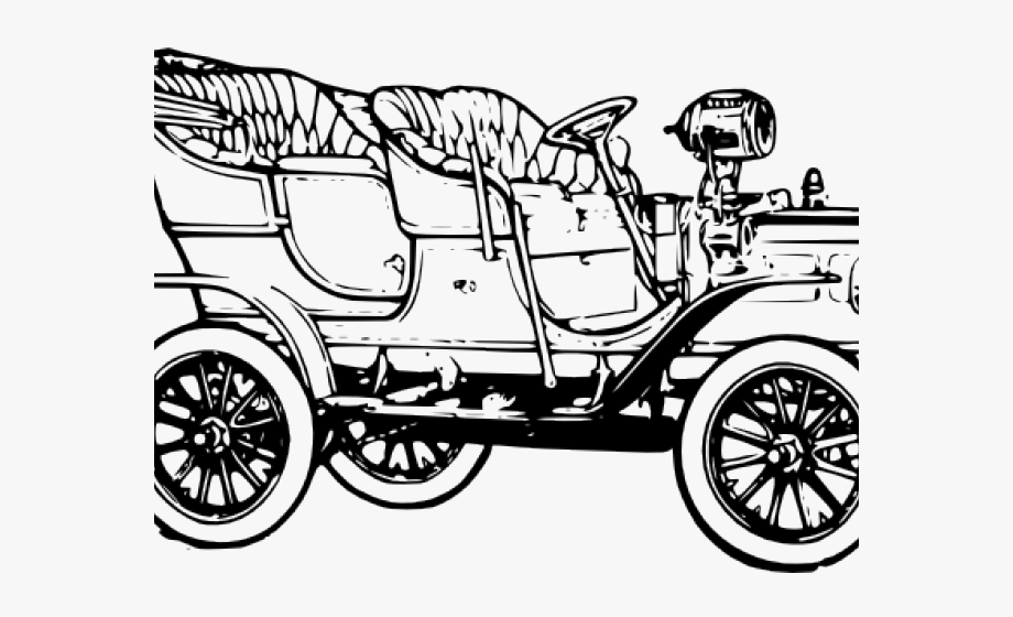 Small quadracycle. Ford clipart model t