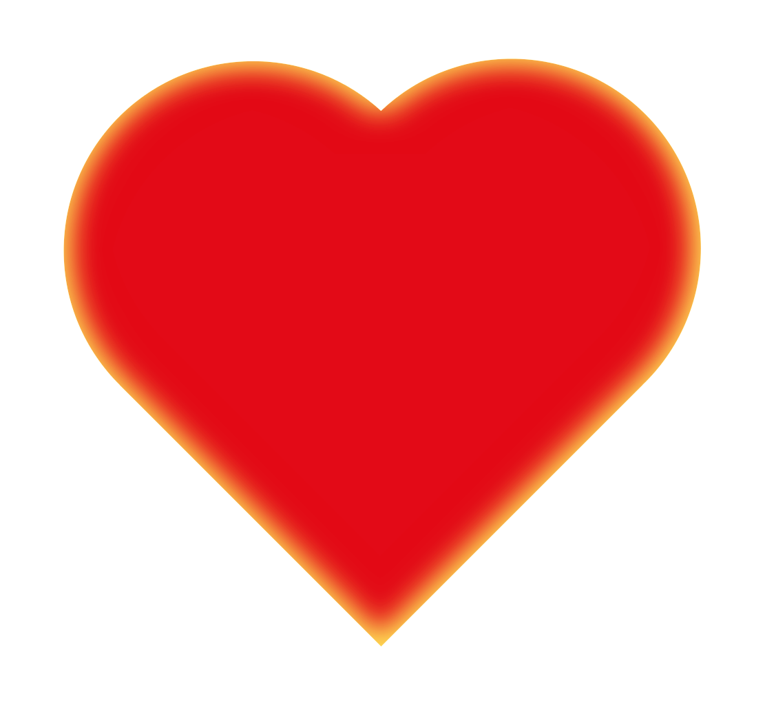 Small red heart png. File love symbol inglow