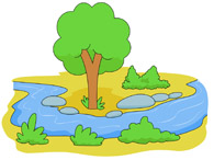 Small rover. Clipart river x free