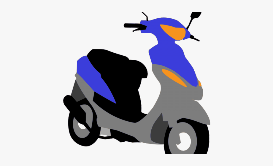 Small scooter. Clipart svg motor free