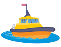 Small ship. Free boat cliparts download
