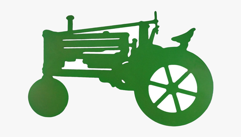 Small tractor. John deere clipart free