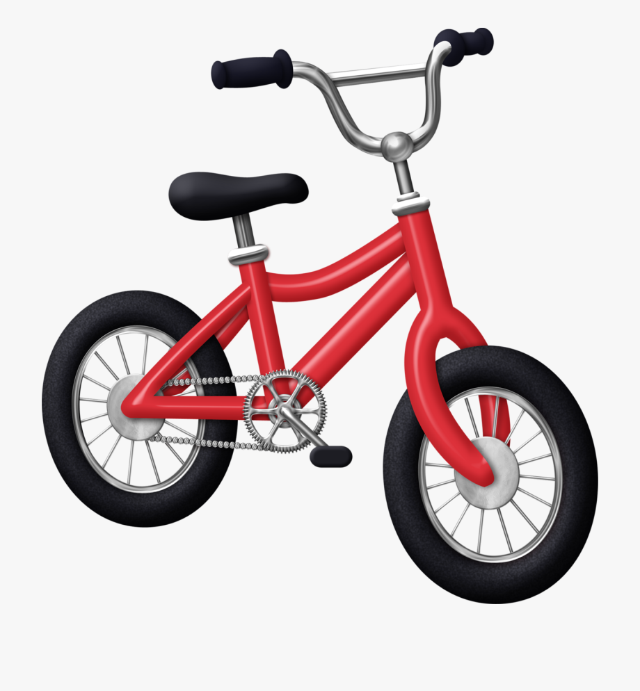 Small tricycle. Clipart bicycle kids