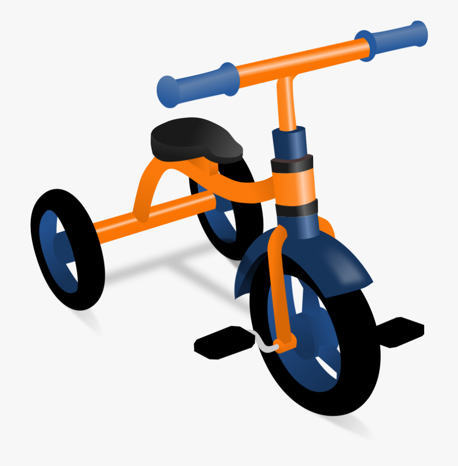 Small tricycle. Download image as a