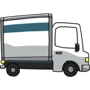 Small truck. Pickup clipart free download