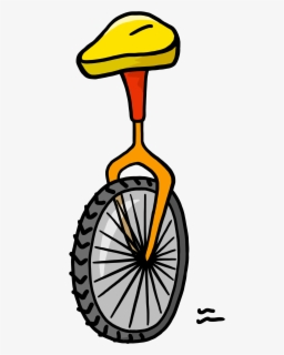 Small unicycle. Free clip art with