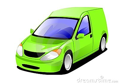 Small van. Delivery jpg clipart panda