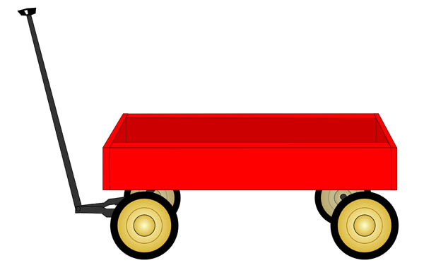 Small wagon. Station clipart free download