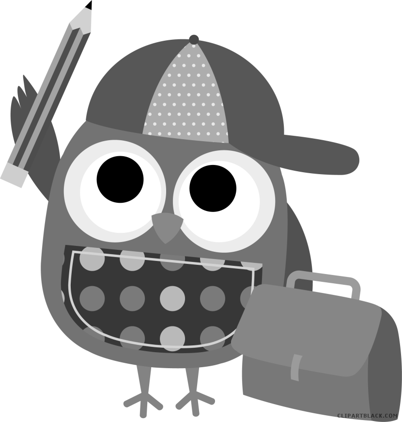 Smart clipart smart owl. Clipartblack com animal free