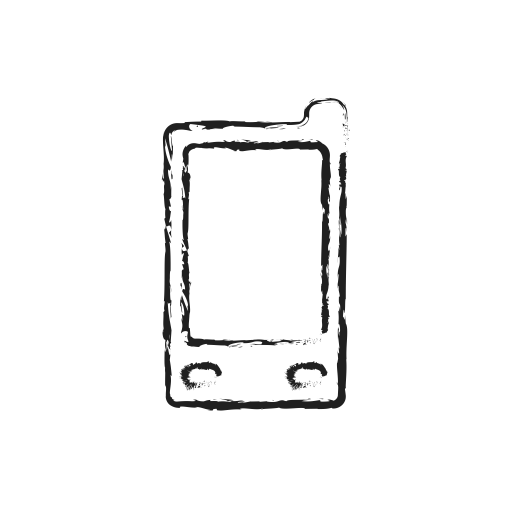 Smart drawing phone. Communication connection mobile smartphone