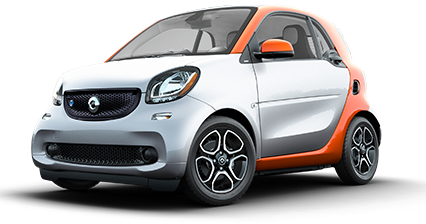 Smart drawing tiny car. Mini electric cars and