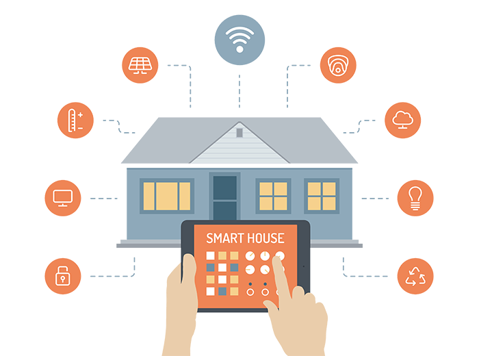Smart home png. Automation and installation in