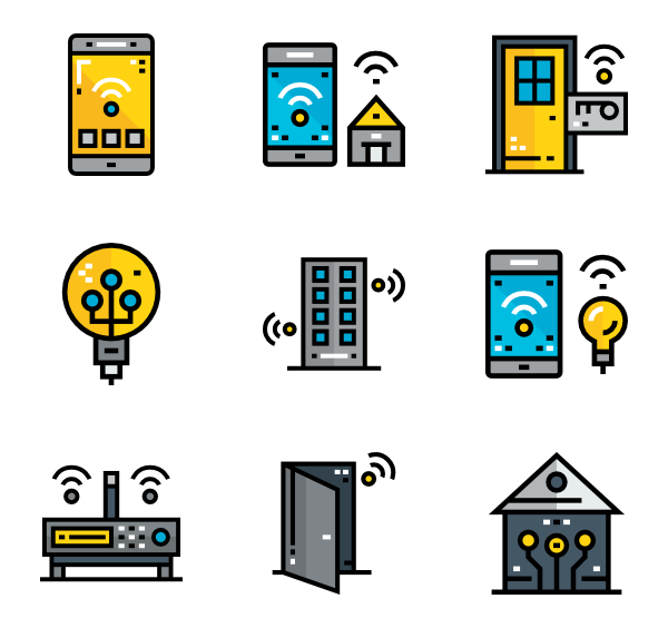 Smart home png. Icon packs vector