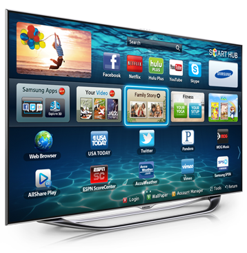 Smart tv png. Let the experience begin