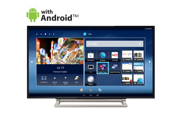 Smart tv png. Toshiba television