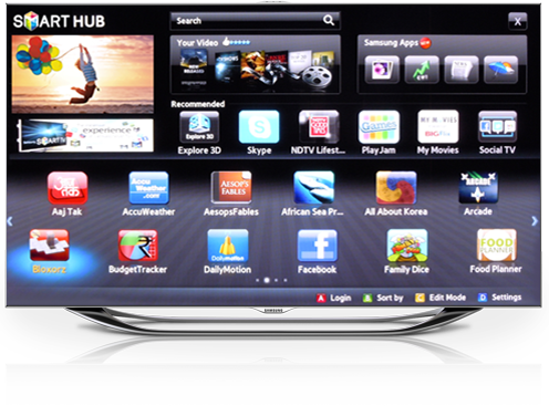 Smart tv png. Samsung launches inches led
