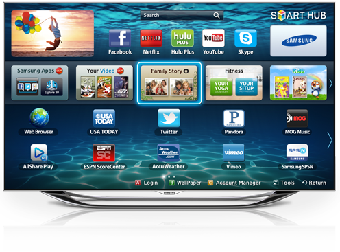 Smart tv png. How to change samsung
