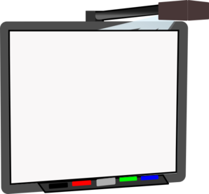 Smartboard drawing electronic. Smart board blank clip