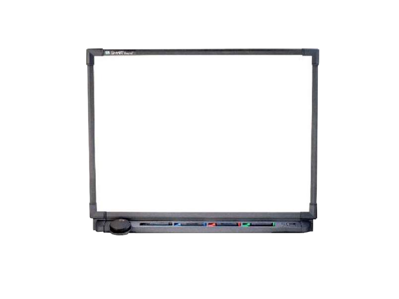 Smartboard drawing whiteboard. Smart board