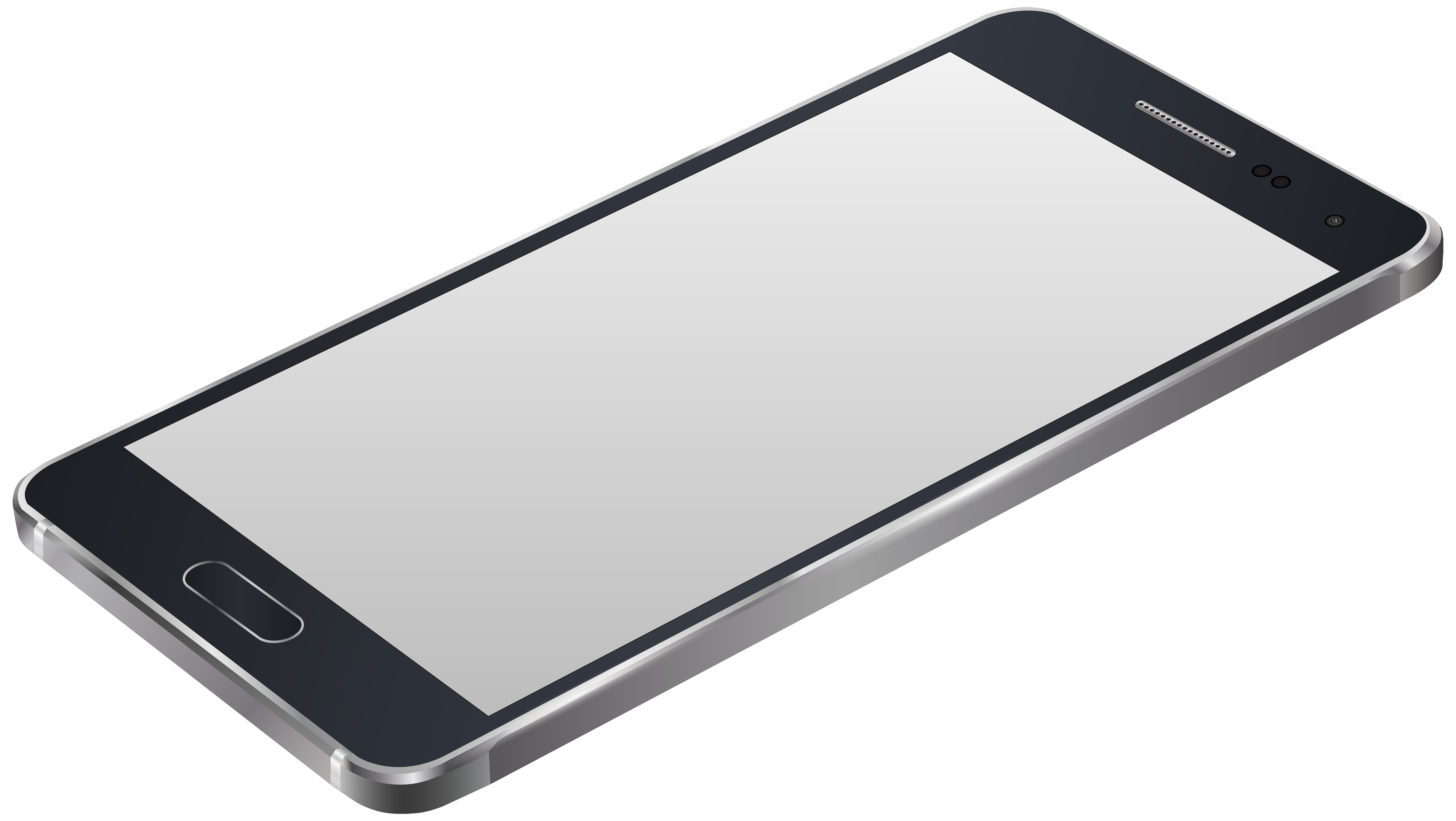 Smartphone clipart png. Grey clip art image