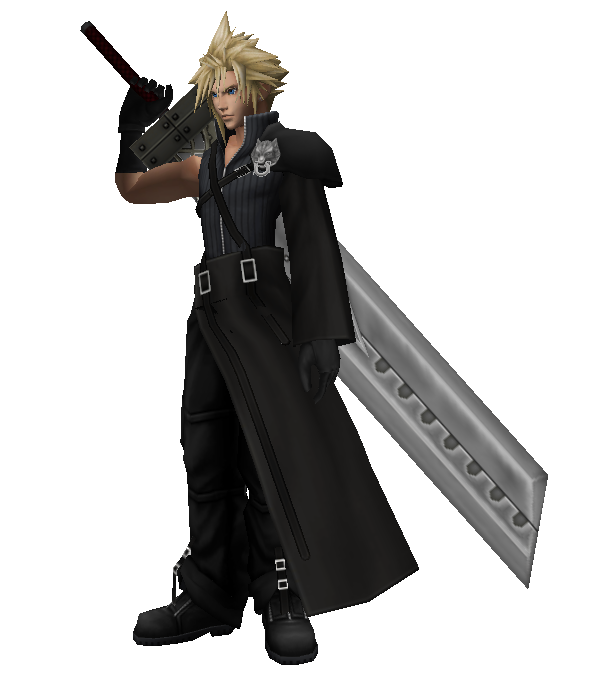 Smash 4 cloud png. Ff fans which costume
