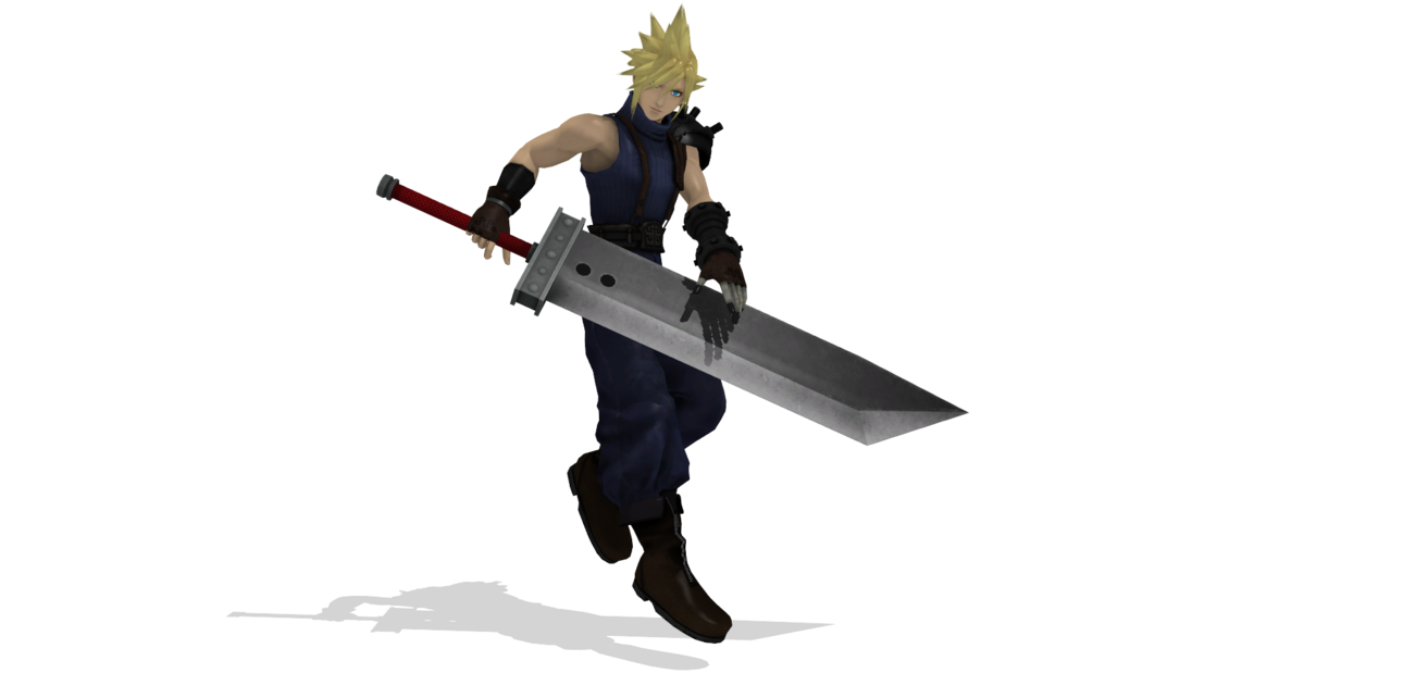 Smash 4 cloud png. Mmd ssb wii u