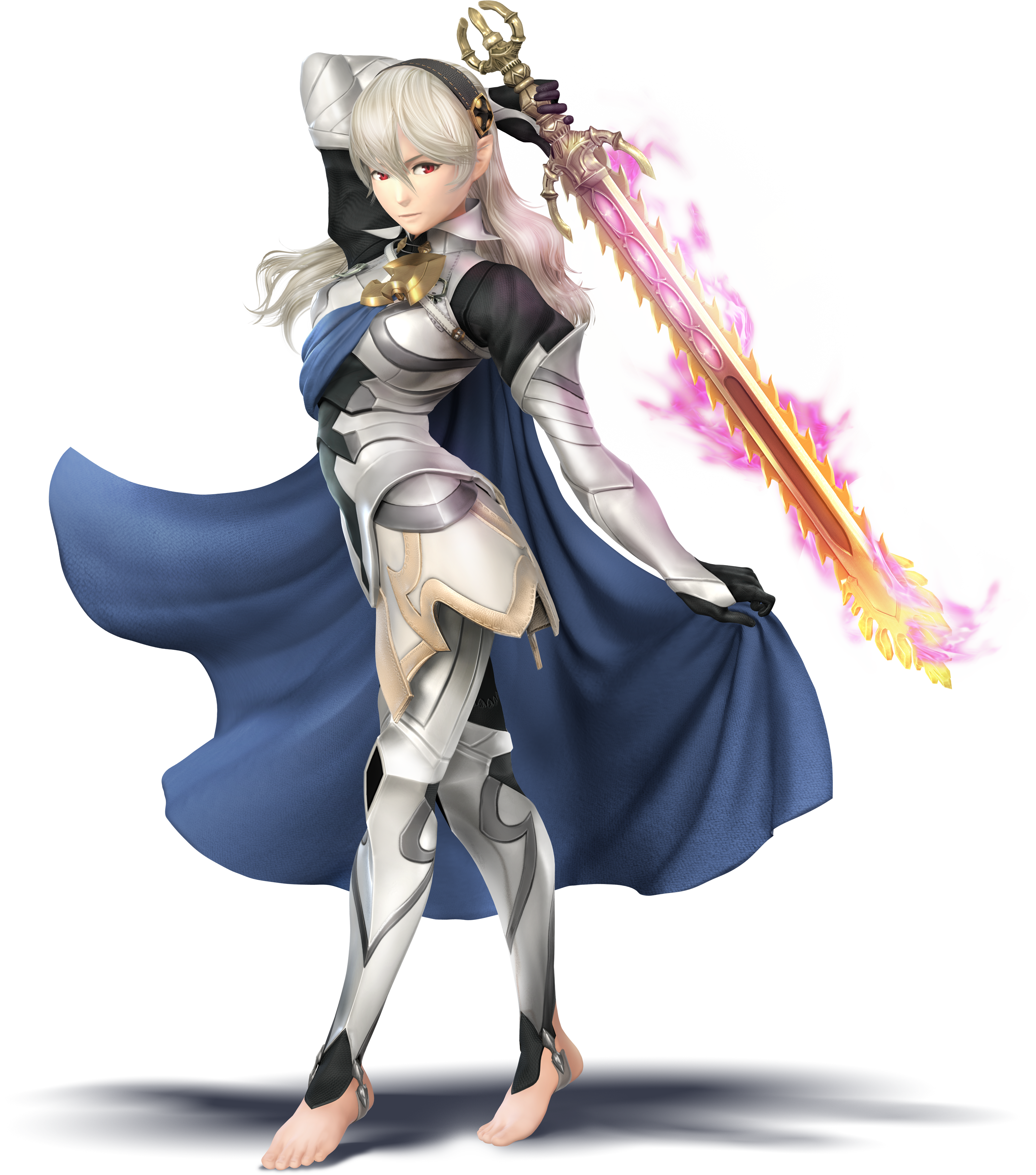 Smash 4 cloud png. Image corrin f fire