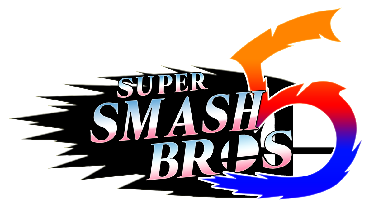 Super bros fan by. Smash 5 logo png clipart royalty free stock