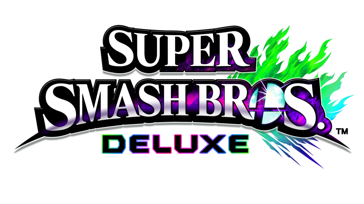 Smash 5 logo png. Super bros deluxe by