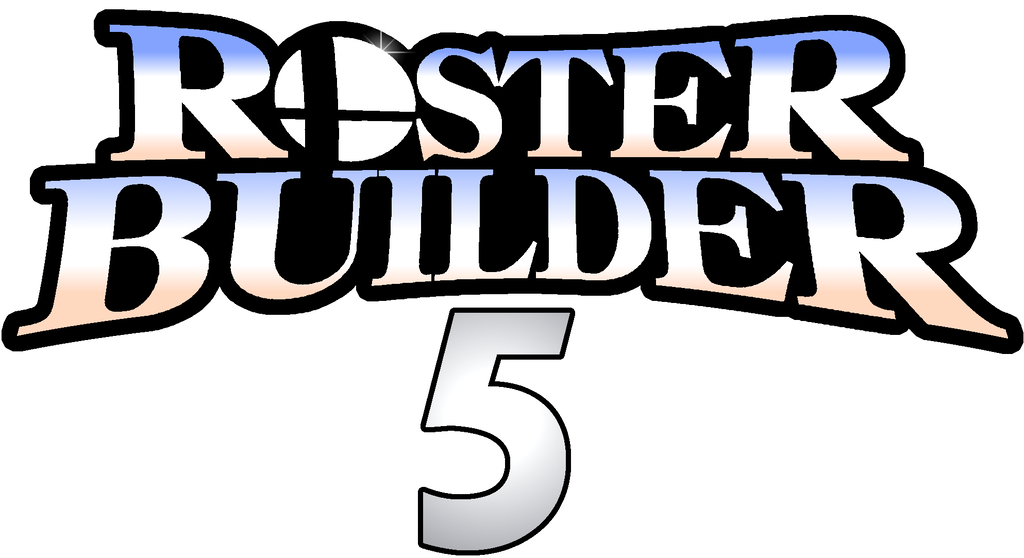 Super bros roster builder. Smash 5 logo png picture royalty free stock