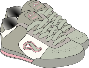 Smell clipart old sneaker. Shoe clip art you