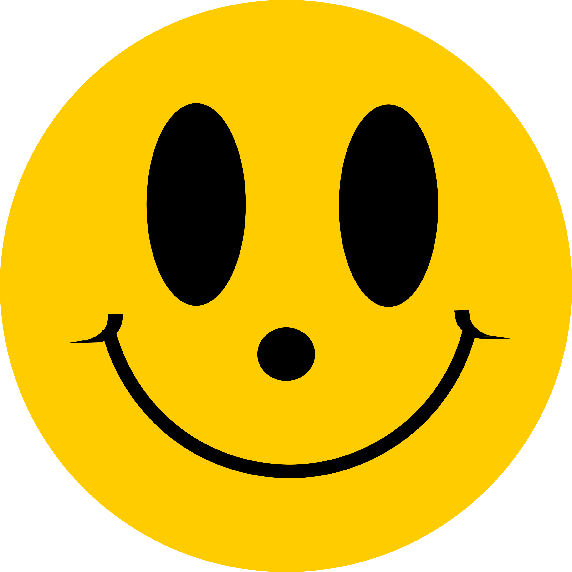 Happy smiley face png. Clipart simple flat smile