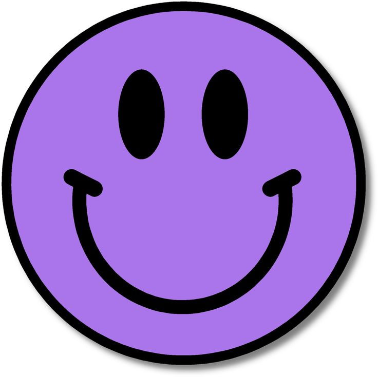 Smile clipart purple. The best images on