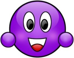 Smile clipart purple. Best makes me