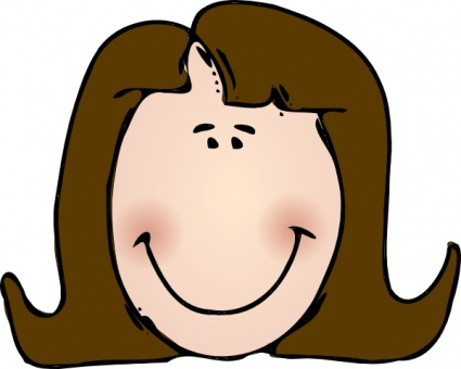 Smile person. Free smiling clipart download