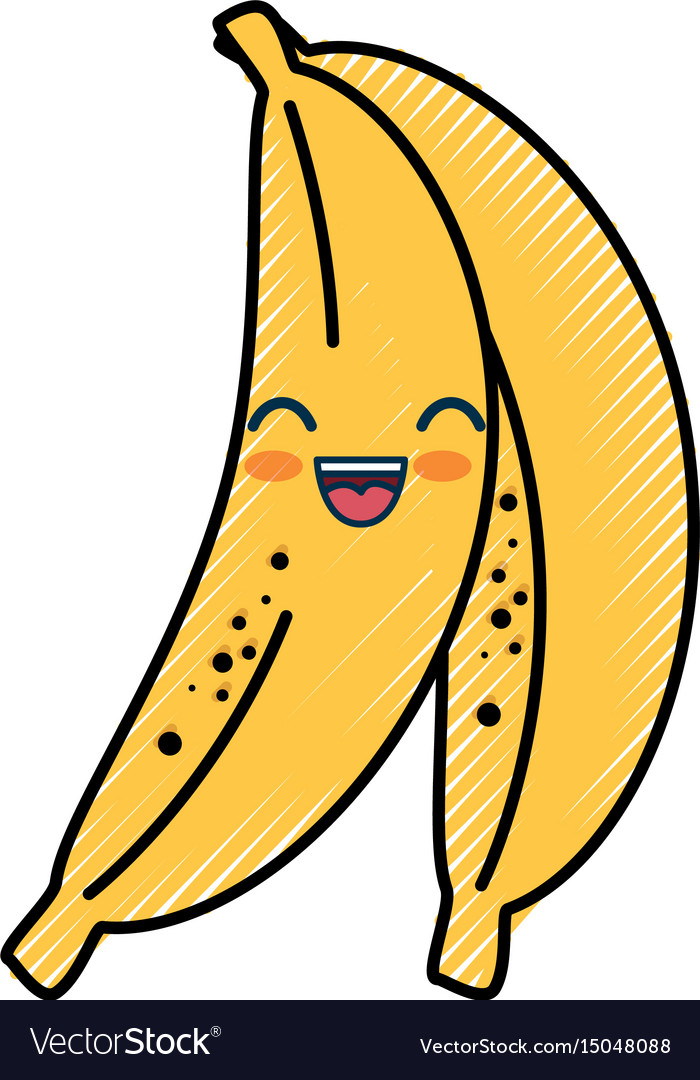 Smiley clipart banana. Cartoon royalty free vector clip transparent download