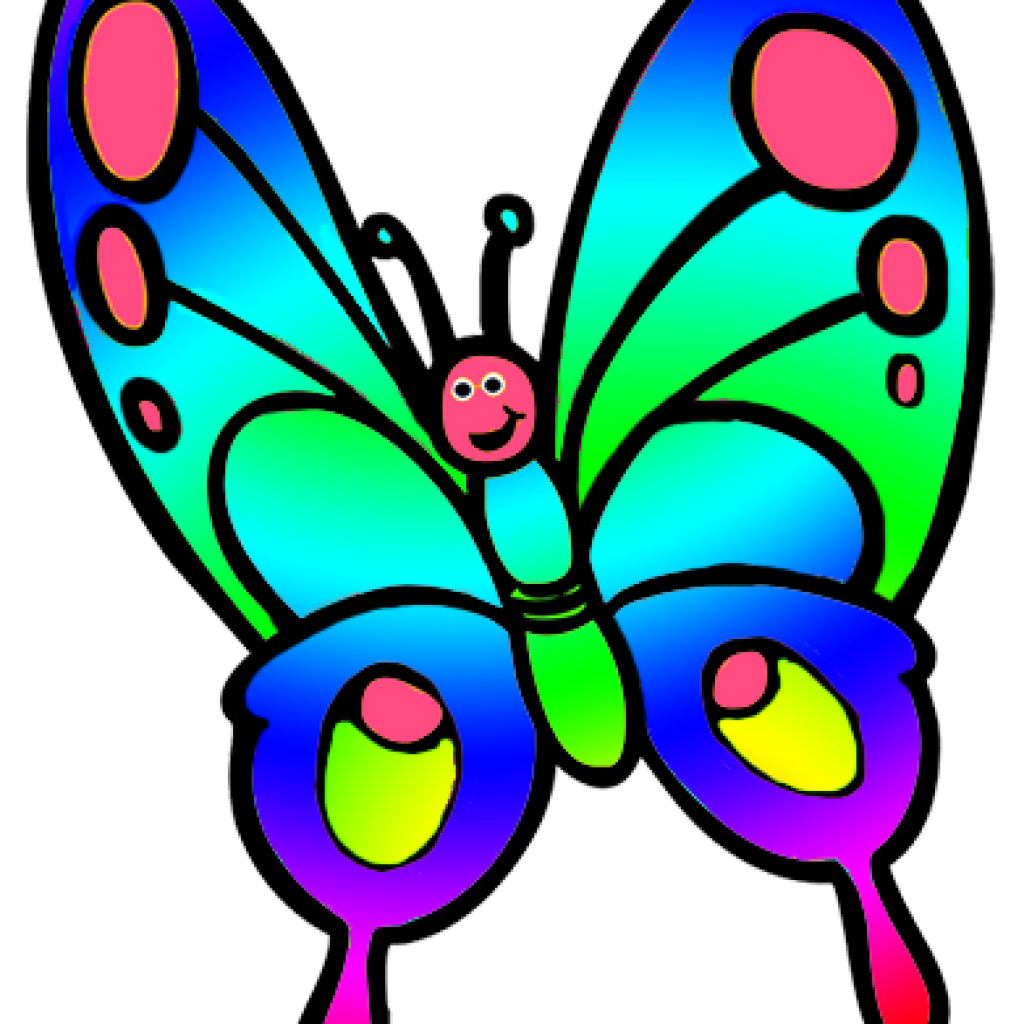 Smiley clipart butterfly. Cliparts free download butterflys