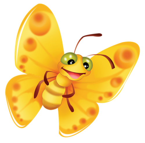 Smiley clipart butterfly. Cartoon filii and clip