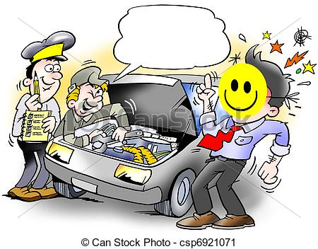 Smiley clipart car. Inspection of an csp picture transparent library