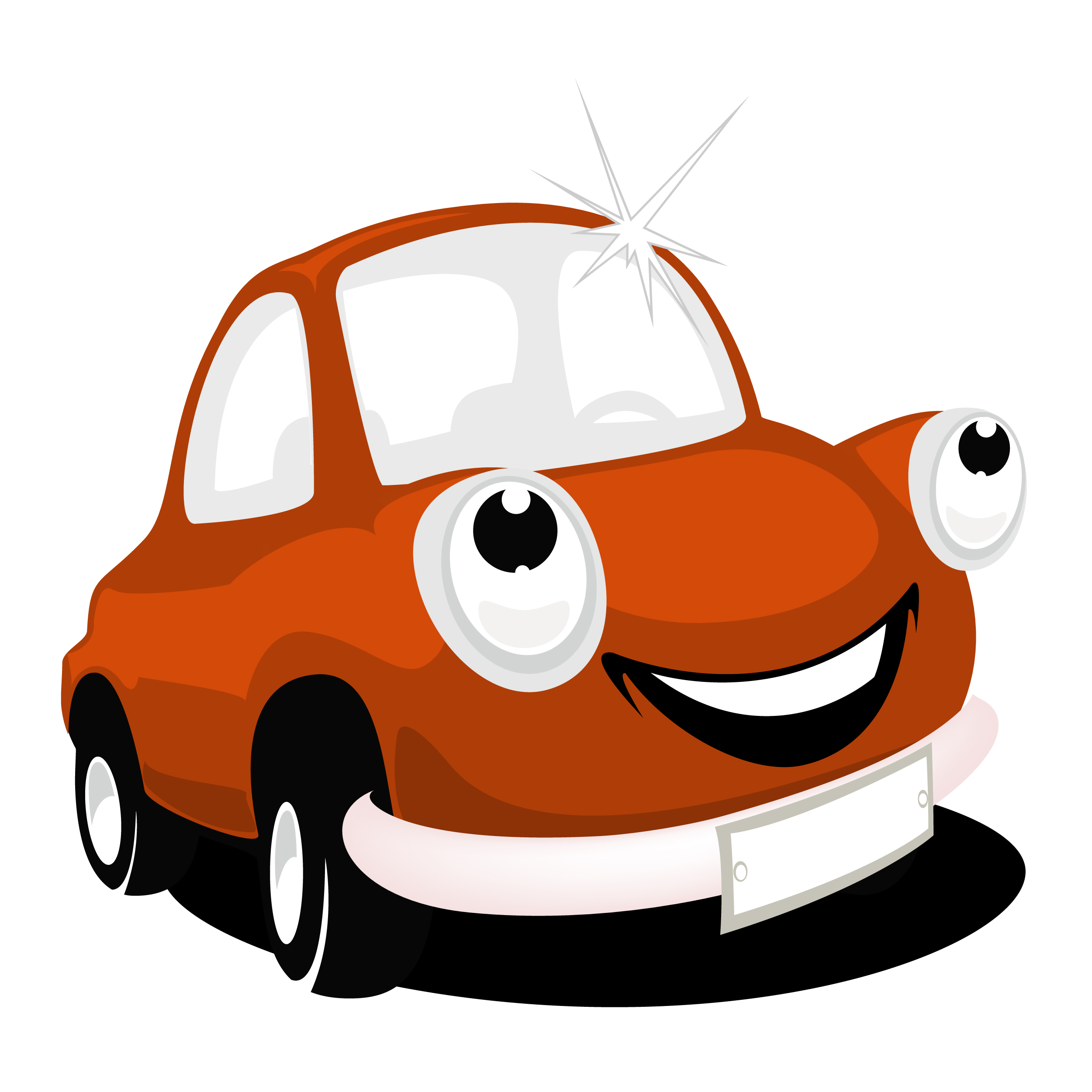 Smiley clipart car. Photos cartoon drawing art