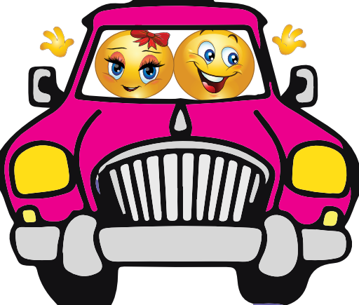 Smiley clipart car. Cruising pinterest facebook timeline