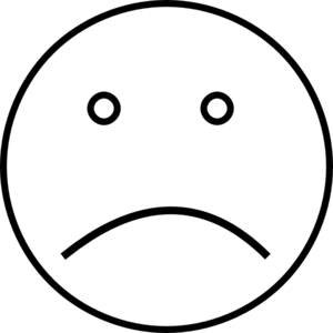 Smiley clipart sad. Face faces and image
