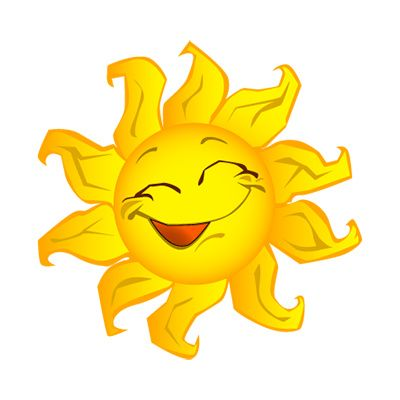 Sunshine clip art sun. Smiley clipart summer picture black and white stock