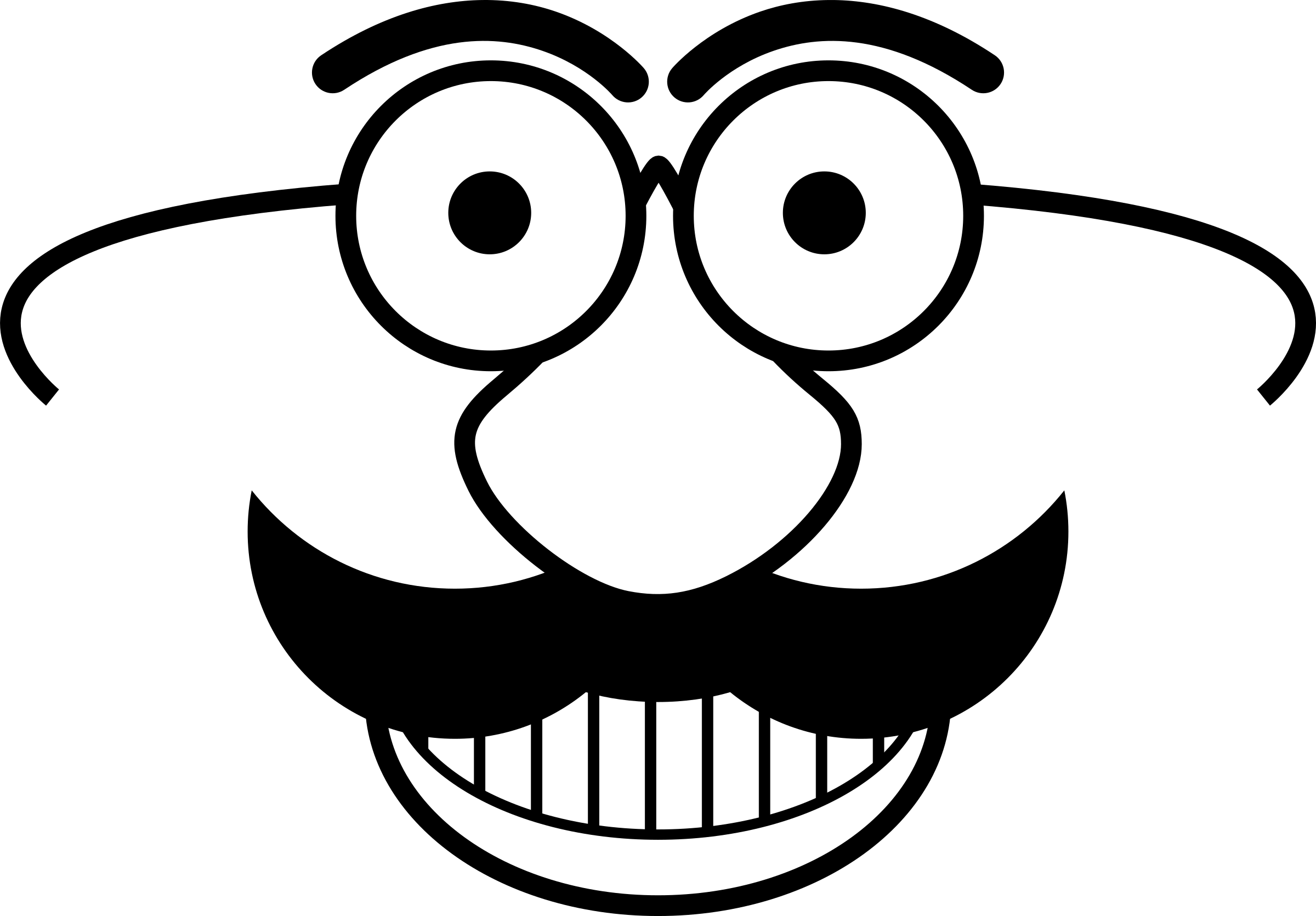 Smiley face black and white png. Displaying images for clipart