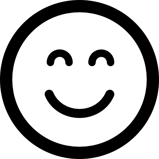 Smiley face button png. Emoticon square smiling with