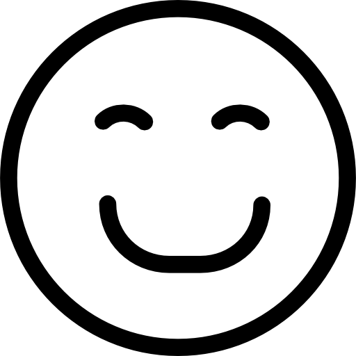 Smiley face png black and white. Smiling icon page svg